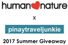 Human Nature and Pinay Travel Junkie 2017 Summer Giveaway