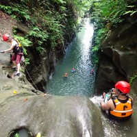 Canyoning in Samar: Conquering Fear in a Verdant Canyon