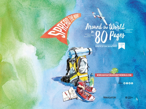 Around the World in 80 Pages 3rd Edition
